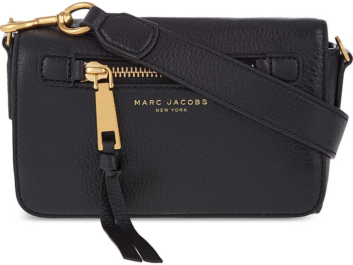 Marc Jacobs Marc Jacobs Recruit leather cross-body bag