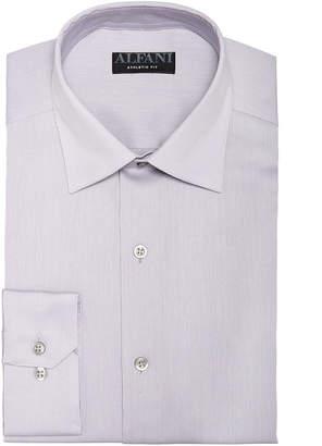 Alfani AlfaTech by Men Athletic Fit Bedford Cord Dress Shirt