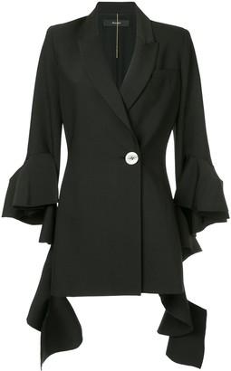 Ellery Forsaken frill sleeve jacket