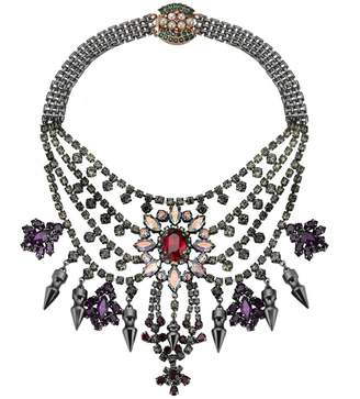Mawi London Tiered Crystal Necklace