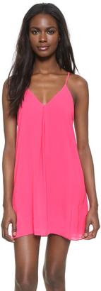 alice + olivia Fierra Y Back Tank Dress $198 thestylecure.com