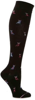 Dr. Motion Owls Compression Knee Socks - Women's