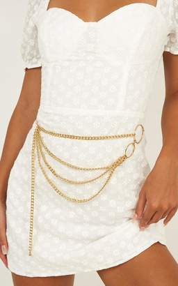 Showpo Made For This Love Chain Belt In Gold Belts