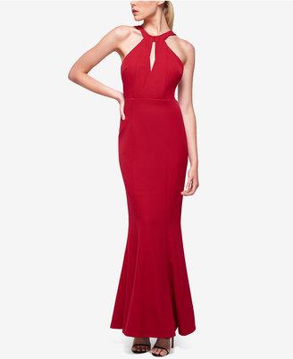 Fame and Partners Keyhole-Neck Halter Dress $275 thestylecure.com