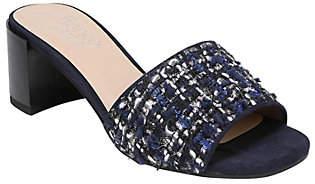 Franco Sarto Fabric Block Heel Sandals - Ramy2