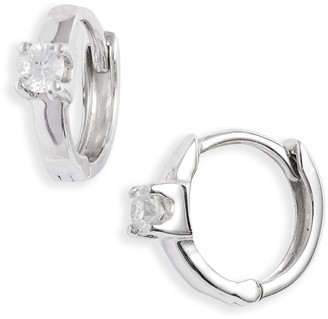 Bony Levy Amara Classic Diamond Huggie Earrings