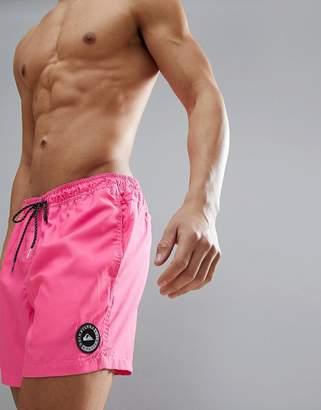 Quiksilver Everyday Volley 15 In Pink