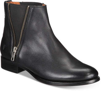 Frye Carly Zip Booties Women's Shoes