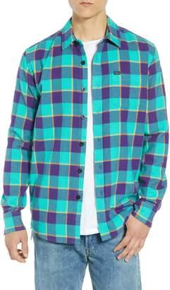 Obey Ventura Plaid Flannel Shirt