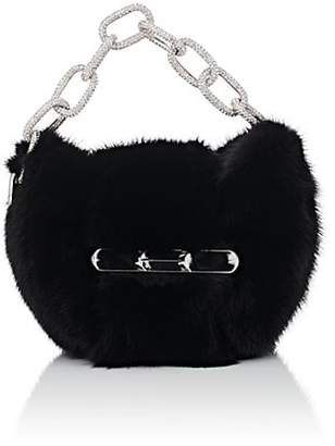 Alexander Wang Women's Micro Mini Mink Fur Clutch