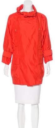 Kaufman Franco KAUFMANFRANCO Silk Utility Jacket