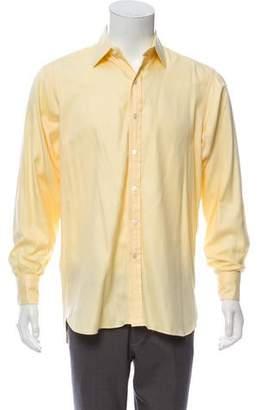 Turnbull & Asser Twill French Cuff Shirt