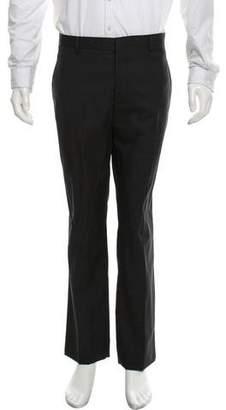Lanvin Virgin Wool Flat Front Pants