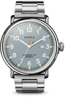 Shinola The Runwell Stainless Steel Bracelet Watch