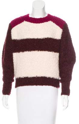 Isabel Marant Striped Mohair & Alpaca-Blend Sweater w/ Tags