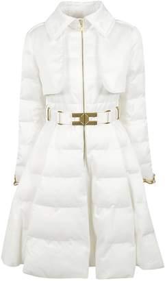Elisabetta Franchi Celyn B. Belted Padded Coat
