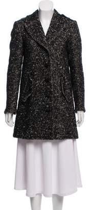 Burberry Wool Textured Coat