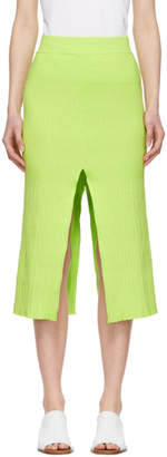 Simon Miller Green Luz Skirt