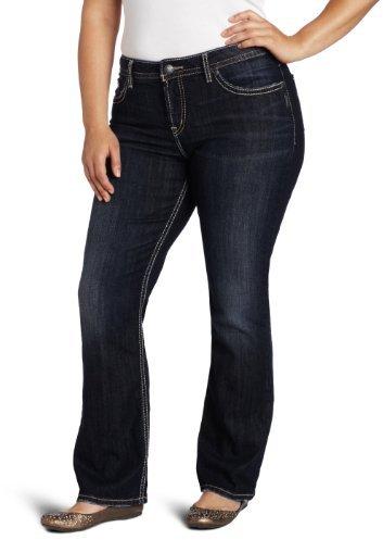 Silver Jeans Juniors Plus-Size Natsuki Jean
