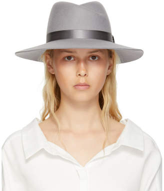 Rag & Bone Grey Zoe Fedora