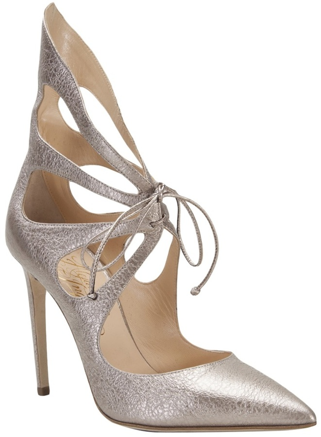 Alejandro Ingelmo 'Mariposa' cut out bootie