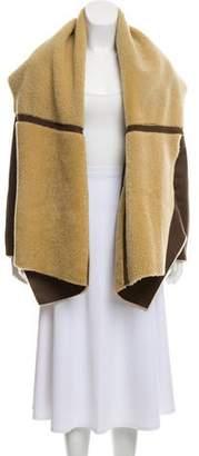 Kaufman Franco KAUFMANFRANCO Oversize Shearling Coat