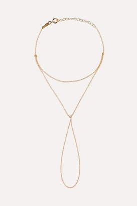 Catbird - Kitten Mitten 14-karat Gold Diamond Bracelet