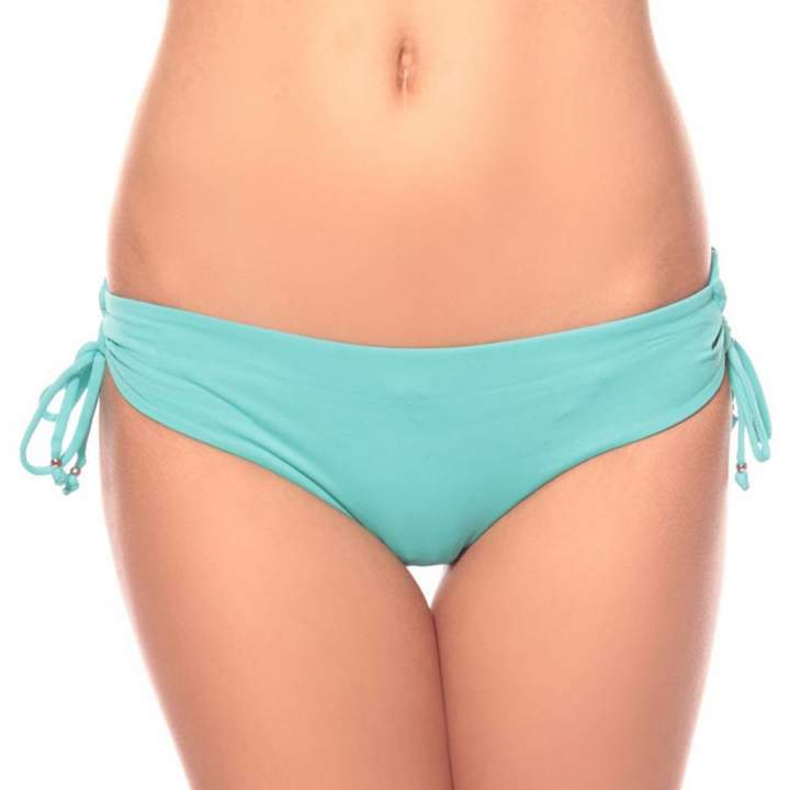 Turquoise/Green Lace Up Hipster Bikini Briefs