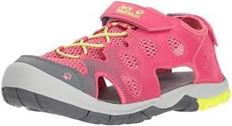 Jack Wolfskin Unisex Kids' Titicaca VC Low K Sports Sandals, (Tropic Pink 2145)