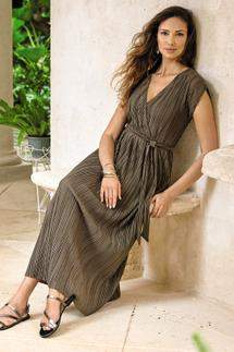 Soft Surroundings Perfect Plisse Dress