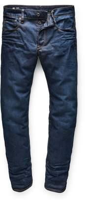 G Star Men's G-Star 3301 Straight Dark Wash Jeans