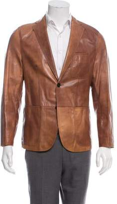 b2542451c6f HUGO BOSS Men's Leather & Suede Coats - ShopStyle