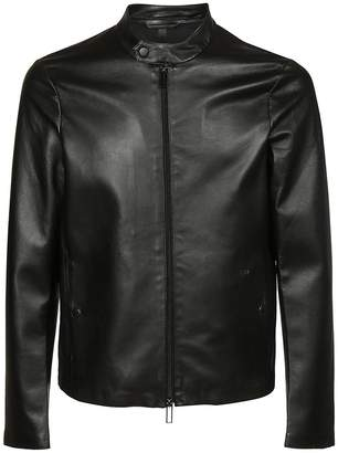 Emporio Armani Classic Leather Jacket