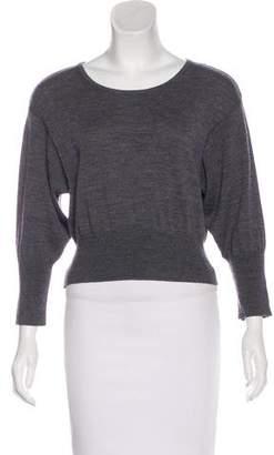 Diane von Furstenberg Cropped Wool Sweater