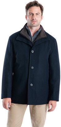 London Fog Tower By Big & Tall Tower by Wool-Blend Car Coat