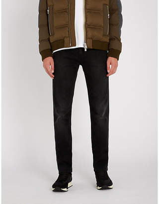 BOSS Slim-fit stretch-cotton jeans