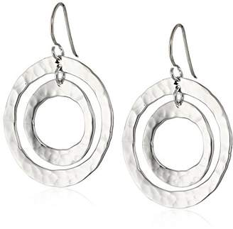 Zina Sterling Ripple Ring Earrings