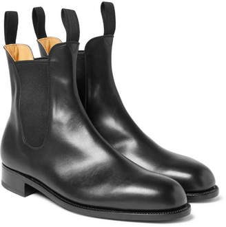 J.M. Weston Leather Chelsea Boots