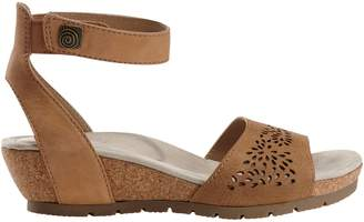 Planet By Earth Krystal Leather Sandals
