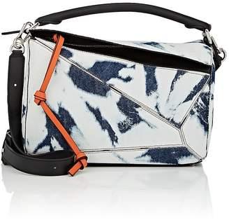 "Loewe Women's ""Puzzle"" Medium Denim Shoulder Bag"