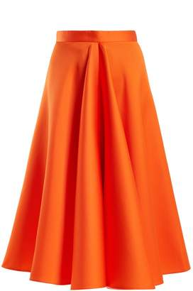 Maison Rabih Kayrouz High-waisted satin full skirt