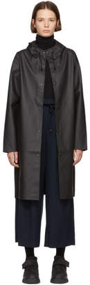 Stutterheim Black Long Stockholm Raincoat