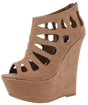 Dollhouse Caged Wedge