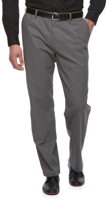 Croft & Barrow Big & Tall Relaxed-Fit Easy-Care Stretch Pleated Khaki Pants