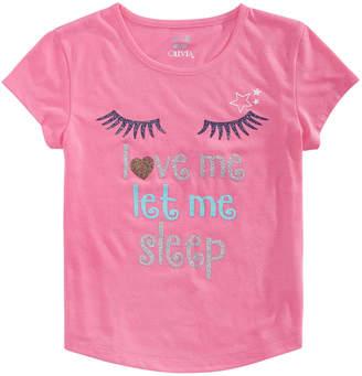 Max & Olivia Big Girls Graphic-Print Pajama Top