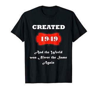 70th Birthday Tshirt Gift Funny Angel 70 T Born 1949 Shirt