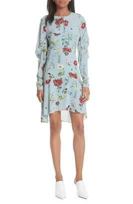 Joie Tamarice Floral A-Line Dress