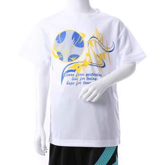 Converse (コンバース) - コンバース CONVERSE ジュニア バスケットボール 半袖Tシャツ 7F JRプリントTシャツ CB472302