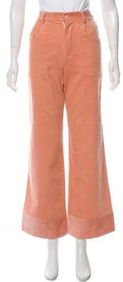 Rachel Antonoff High-Rise Corduroy Pants