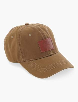 Leather Tag Baseball Hat